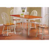 5 Pc Dinette Set In Buttermilk Finish 100880/82 (CO)