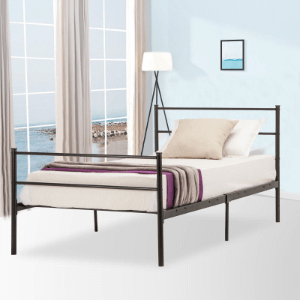 Twin Size Platform Metal Bed Frame (330 Lbs Weight Capcity)