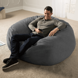 Jaxx 5-ft. Giant Bean Bag Chair (Multiple Colors)