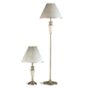 2-Pc Metal Table And Floor Lamp Set 1182 (CO)