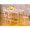 5-Pc Wash Finish Dining Set 1211-39/44 (WD)