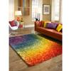 Cantebury Rainbow Shag Rug 13912178(OFS201)