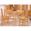 5-Pc Pinewood Dinette Set 150021 (CO)