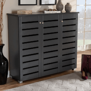 Contemporary Shoe Storage Cabinet