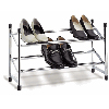 Chrome Adjustable Shoe Rack 1731Chrome(OI)