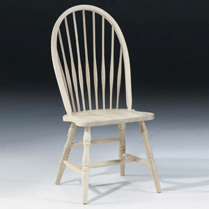 Unfinished Tall Spindleback Windsor Chair 1C-969 (IC)