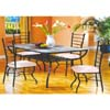 5-Piece Quartz Dining Set 2042/3042 (ML)