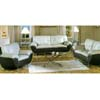 Two-Toned Leather Living Room Set 2100 (WD)