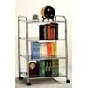 3 Tier Bookcase In Chrome 2813(PJFS15)