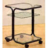 Serving Cart With Glass Shelves 2109_ (CO)