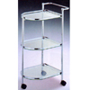 Serving Cart With Glass Shelves 2132 (PJ)