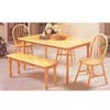 5-Piece Natural Finish Dinette Set 2247N (A)