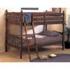 Bunk Bed Walnut 2300 (A)