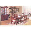 7-Piece Cherry PU-Lacquered Finish Dinette Set 2516_(ML)