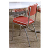 Chrome Plated Chair With Cushion Seat 2450 (CO)