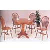 5-Piece Nostalgia Oak Dinette Set 07021(A)