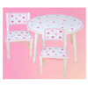 Polka Dot Table And Chair Set 26457 (KK)
