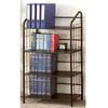 Black Metal 4 Tier Bookcase 2893 (CO)