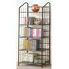 Black Metal 5 Tier Bookcase 2895 (CO)