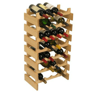 Dakota 28 Bottle Wine Rack 28(WFS)