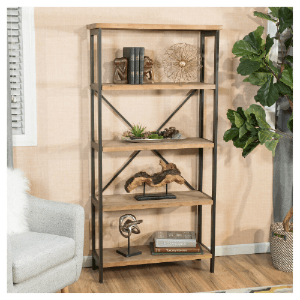 Perth 5-Shelf Industrial Bookcase 296929(OFS)