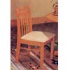 Oak Finish Splat Back Chair 2976 (A)