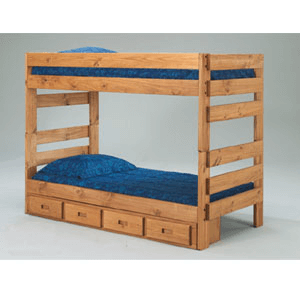 Twin/Twin Stack-able Bunk Bed 3012(PCu)