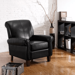 Dorel Living Faux Leather Club Chair 3129(WFS)