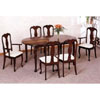 7-Pc Cherry Finish Dinette Set 3179-16 (CO)