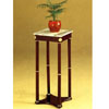 Square White  Marble Stand  2281W  (A)