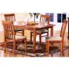 5-Piece Dinette Set In Oak 34012/35012 (AL)