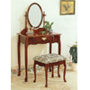Queen Anne Style Vanity Set 3411(COFS50)