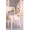 White Wash Finish Arm Chair 3517A (IEM)