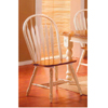 Arrow Back Chair in Buttermilk & Oak Finish 3527 (ML)