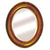 12x14 Oval Wood Mirror 36010 (BD)