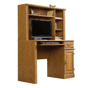 Sauder Orchard Hills Computer Desk with Hutch 401353(AZFS)