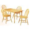 5-Pc Natural Solid Wood Dinette Set 4015 (PJ)