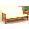 Curved Mission Arm Futon 4026 (ML)