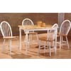 5-Pc Natural/White Dinette Set 4048 (P)