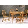 All Natural 5-Pc Dining Set 4049 (COu)
