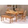 6-Pc All Natural Dinette Set 4065/74/4118 (CO)