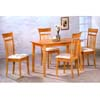 5-Pc Maple Finish Dining Set 4067 (CO)