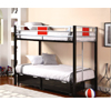 Einsteins Twin/Twin Bunk Bed 4070(ML)