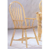 Arrow Back Arm Chair 1263-09 (WD)