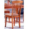Arrow Back Side Chair In Maple Finish 4086 (CO)