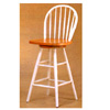 Windsor Bar Chair With White Back And Legs 4124 (CO)