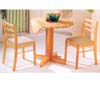 3-Piece Set Table & Chairs 4136/4101 (PJu)