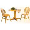 3-Piece Table & Chairs Set 4136/4125A (PJui)