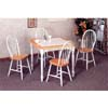 5-Pc Natural/White Dinette Set 4141-29 (CO)