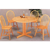 5-Pc  Natural Wood Dinette Set 4142-27 (CO)